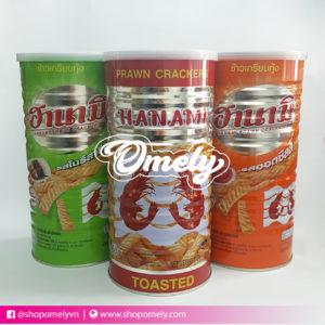 Snack tôm hanami Thái Lan 110g